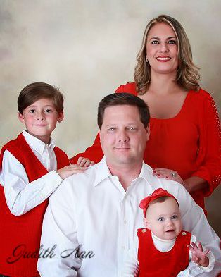 Dr. Porcaro with her husband and two children